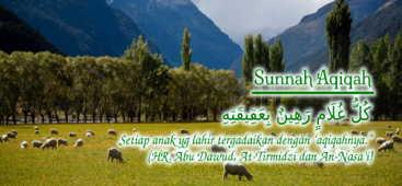 Hadits tentang aqiqah untuk anak solehaqiqah