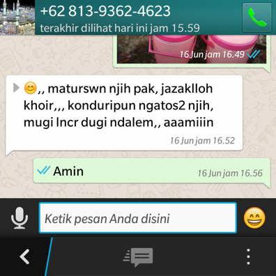 Pesan aqiqah boyolali melalui whatsapp ( W A )