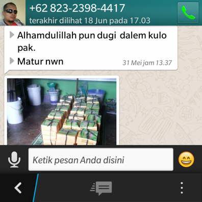 Pesan aqiqah sragen dengan whatsapp ( W A )